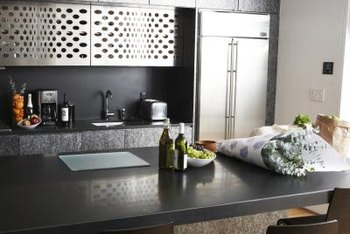 Modern color palettes include lots of gray, black and metallic colors.