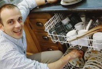 Loading a dishwasher properly will conserve water and electricity.