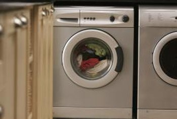 Washing machines may leak even when not running.