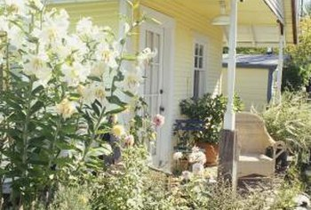 You don't need a lot of money to create a charming cottage garden.
