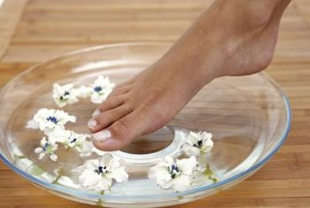 Protein and iron help maintain healthy toenails.