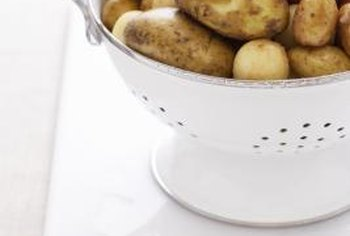 Potatoes come in a variety of shapes, sizes and colors.
