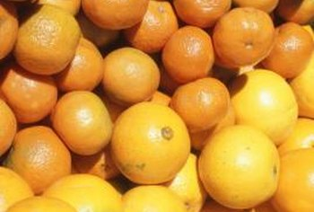 Many varieties of grapefruit are available in miniature form.