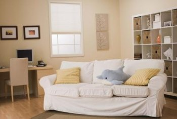 Some sofa beds have removable, washable slipcovers.