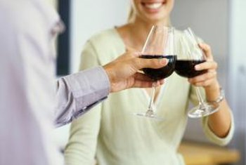 Red wines, such as Syrah, are high in antioxidants.