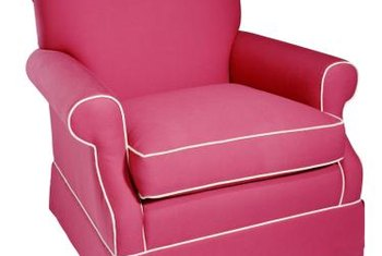 New Upholstery Can Bring An Old Chair Back To Life.