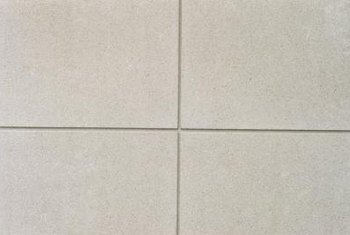 Square foot graninte tiles offer an alternative to countertops fashioned from granite slabs.