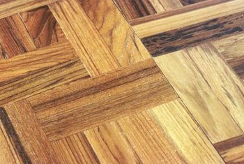Early wood parquetry patterns created an individualized floor during the Victorian era.