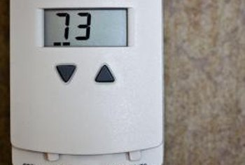 Turn your thermostat down to save energy.