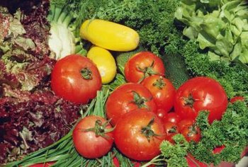 Vegetable plants require adequate nutrients to produce healthy fruit.