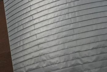 Aluminum siding can be used on homes, offices and outbuildings.