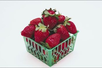 Hydroponic systems can boost strawberry yields.
