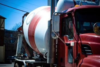 Even small drum mixers work on the same principle as a cement-mixing truck.