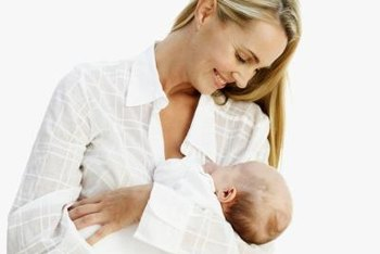 Breast feeding provides benefits for mothers and babies.