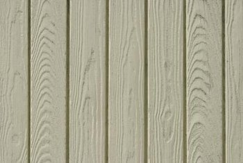 You may want to preserve a strong sense of the wood grain when you paint paneling.