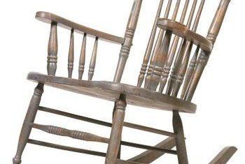 Make an old chair look like new.