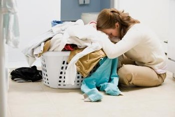Your laundry may not be coming clean due to overloading or hard-water problems.