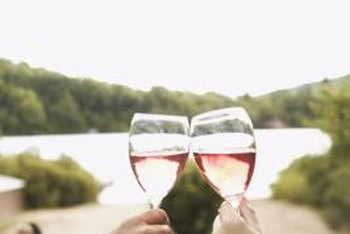 Adding white vinegar to your wash water will leave your wine glasses sparkling clean.