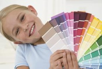 Take the guesswork out of color combinations by using colors from the same paint chip.