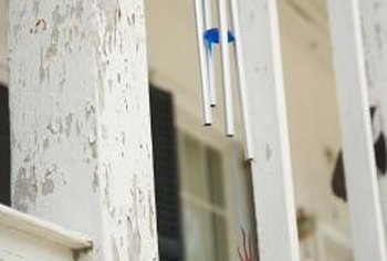For good-neighbor karma, hang wind chimes inside your home.