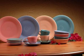 Ceramic dishes such as Fiesta ware are ensured reuse because of collectability.