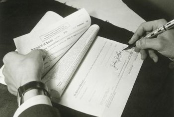 A lease agreement is a binding legal contract once you and the landlord sign it.