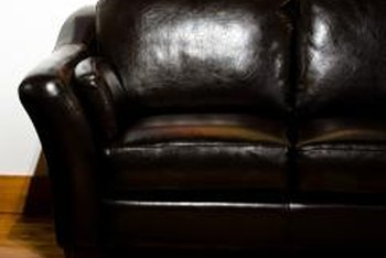 Leather sofas vary widely in price depending on the type of leather and treatment used.