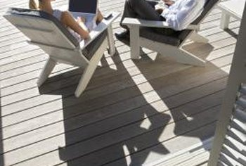 Composite decks offer a variety of features.
