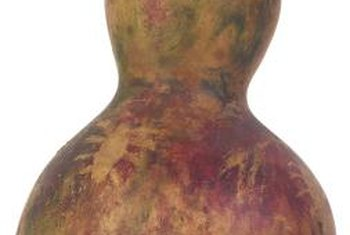The calabash gourd resembles a bottle.
