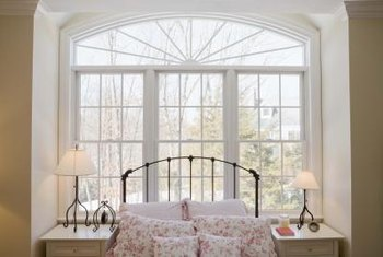 Numerous windows create an open feeling.