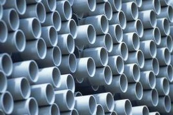 California building codes allow PVC pipes for drain and water supply.