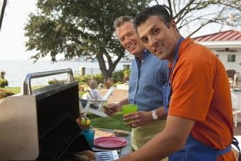 Troubleshoot your gas grill to increase the size of your flame.
