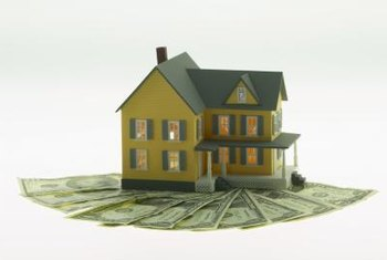 Equity may position the owner to borrow money against a home.