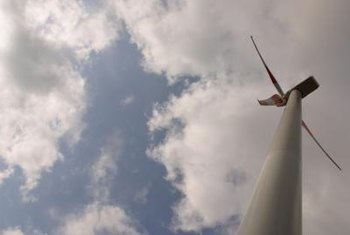 Residential wind turbines are typically 60 to 100 feet tall.