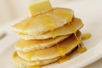 Traditional pancakes are low in fiber.