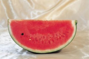 """Seedless"" watermelons generally only have white seeds."