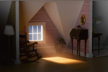 Attic rooms need strategic heating systems to keep residents warm with a low montly energy bill.