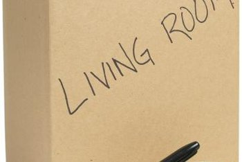 Clearly labeled boxes can help you stay organized during the transition to your new home.