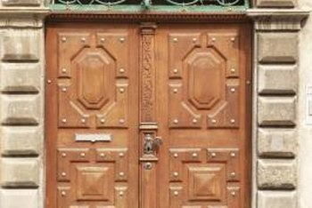 Even old doors can look new with proper restoration and refinishing.