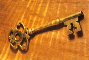 A skeleton key might open the lock.