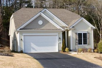 Vinyl siding comes in many colors and styles.