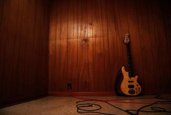 Dated or dark wood paneling can be covered for a bright look.