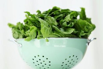 The potassium, magnesium and calcium in spinach support healthy blood pressure.