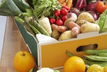 Many fruits and vegetables are good sources of vitamin C.