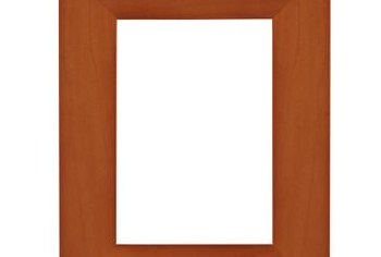 The mark of a well-made picture frame is straight, gap-free corners.