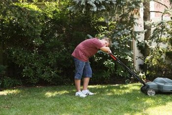 Both walk-behind and riding mowers may overheat if there is a problem with the engine.