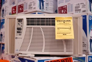 Room air conditioners, some with dual heating capabilities, can be energy efficient.