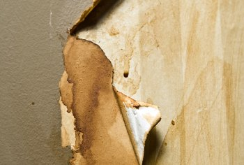 The Wall Surface Under Paper Might Not Be In Excellent Condition