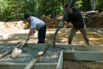 Concrete slabs are used for carports, house foundations, walkways and more.