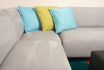 Ideal for homes with children and pets, microsuede has built-in fabric protection.